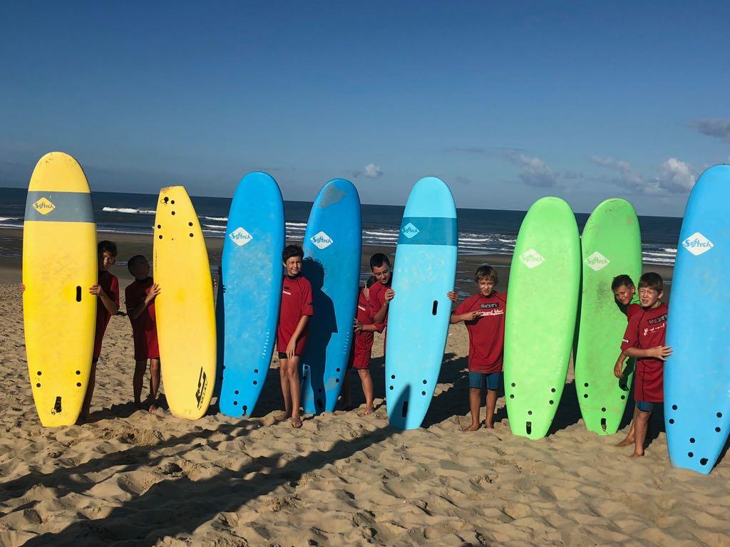 image d'illustration de l'article Séjour surf pour les 11-13ans