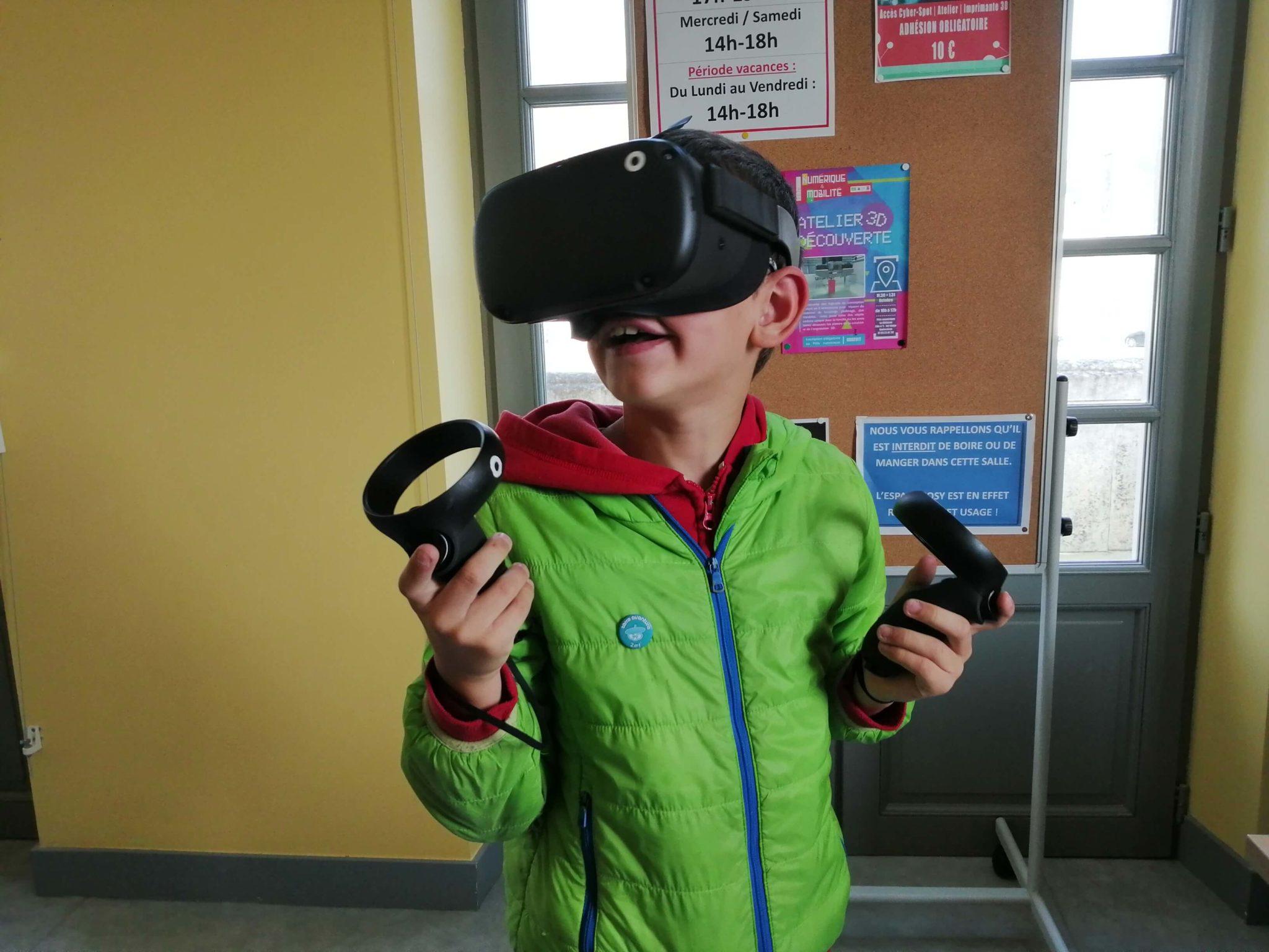 image d'illustration de l'article Découverte réalité virtuelle