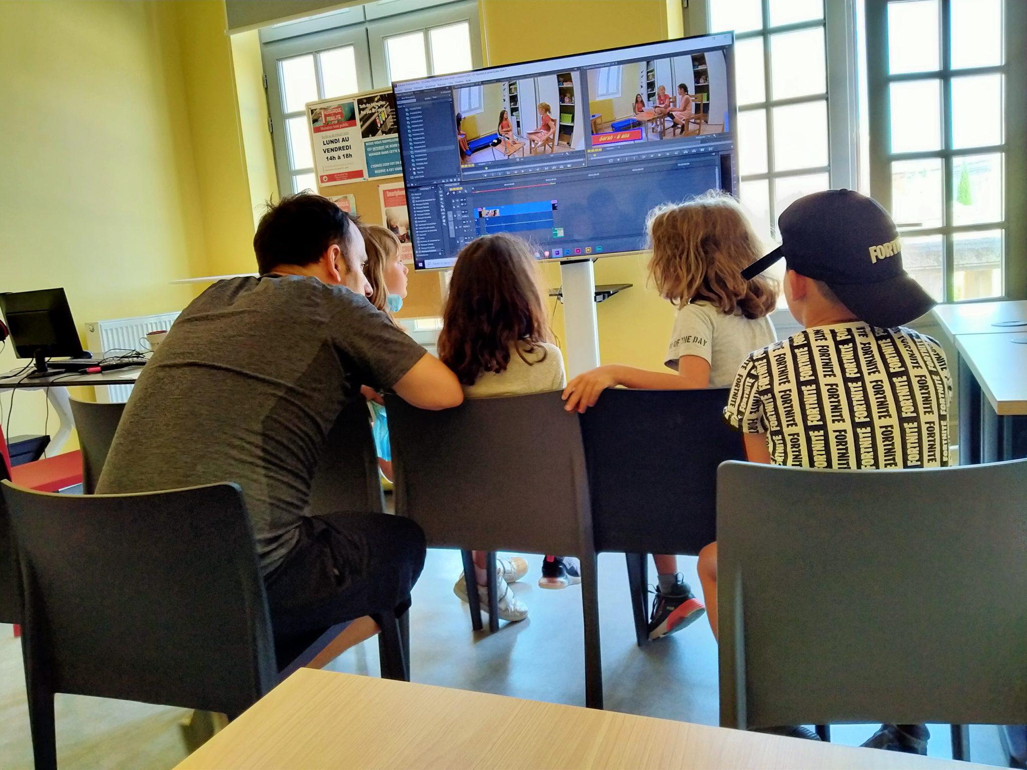 image d'illustration de l'article Créations vidéo : découverte pour les enfants au PNM